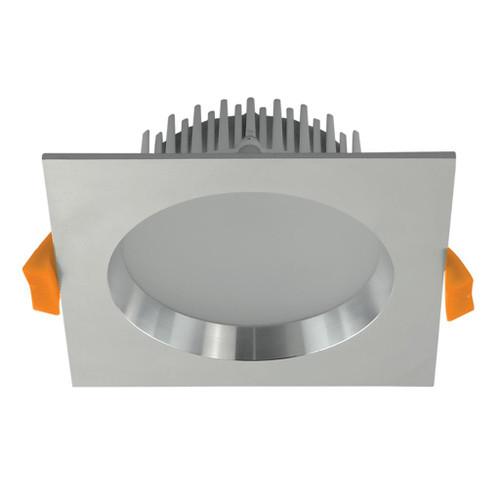 Deco 13W Square Recessed LED Downlight Kit - Aluminum