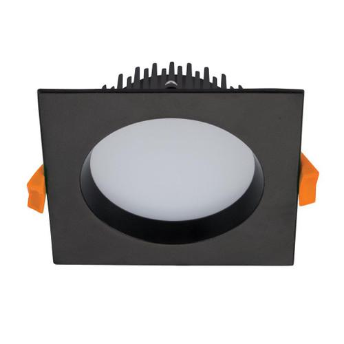Deco 13W Square Recessed LED Downlight Kit - Black