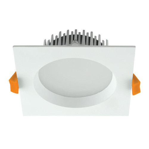Deco 13W Square Recessed LED Downlight Kit - White