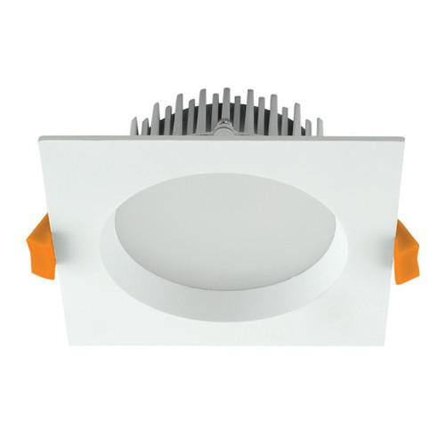 Deco 13W Square Recessed LED Downlight Kit - White
