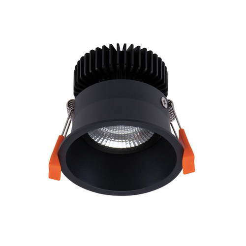 Deep 10W Recessed Adjustable LED Downlight Kit - Black