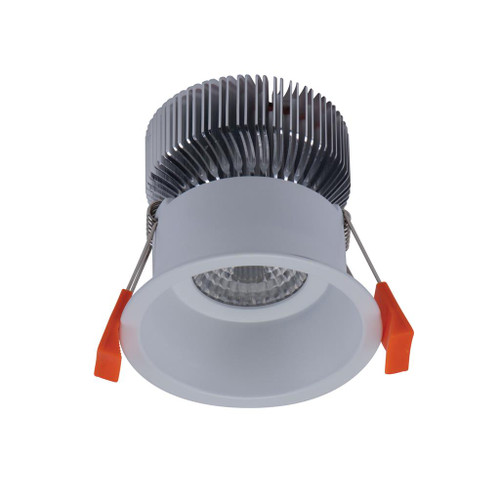 Deep 10W Ultra Slim Round Recessed LED Downlight Kit - White