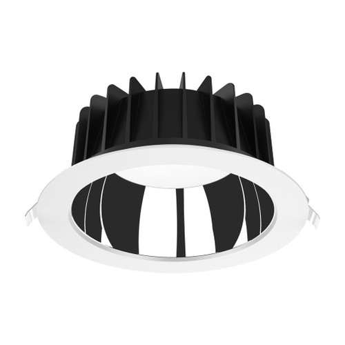 Expo Low Glare Recessed 3CCT LED Downlight Kit - White - Large