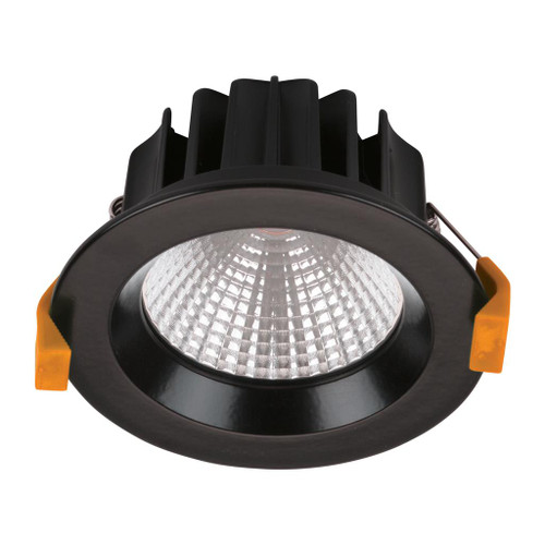 Neo 13W Single Point COB Recessed LED Downlight Kit - Black