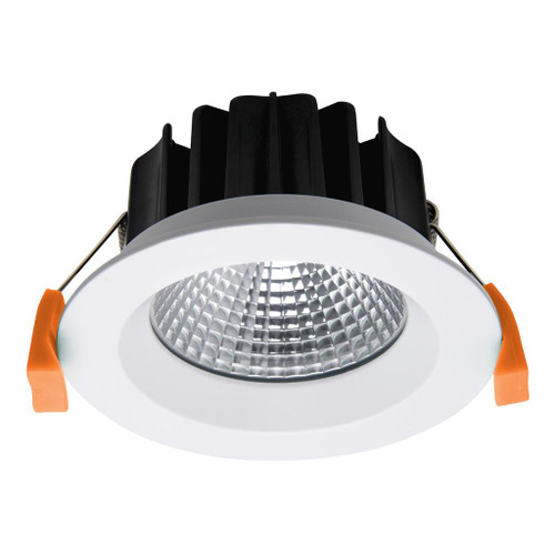 Neo 13W Single Point COB Recessed LED Downlight Kit - White - Dimensions