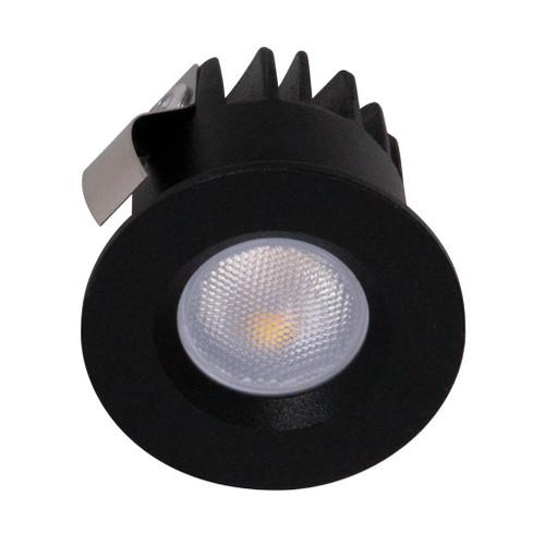 Pocket 3W Mini Recessed LED Downlight Kit - Black