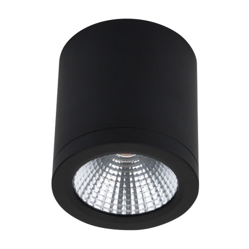 Neo 13W Surface Mounted Single Point COB LED Downlight - Black