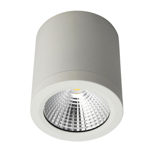 Neo 13W Surface Mounted Single Point COB LED Downlight - White