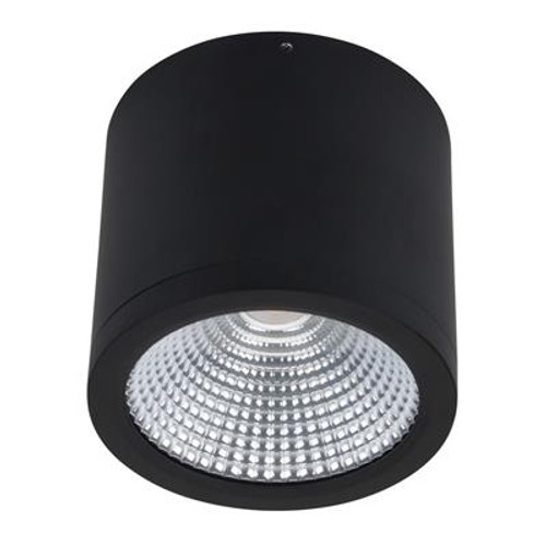 Neo 25W Surface Mounted COB LED Dimmable Downlight - Black
