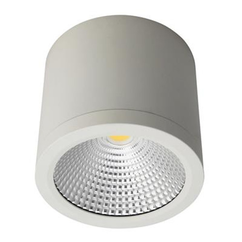 Neo 25W Surface Mounted COB LED Dimmable Downlight - White
