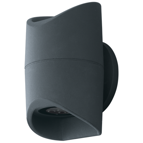 Abrantes Up Down Outdoor Anthracite Wall Light