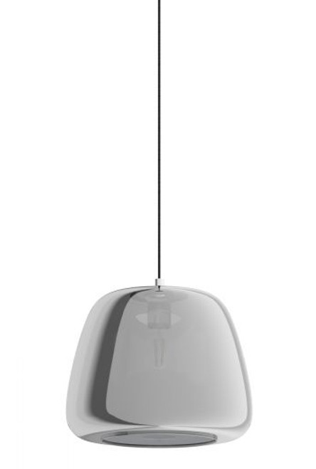 Albarino Smoke Glass Pendant Light