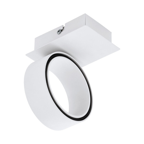 Albariza 1 Light White LED Close To Ceiling Spotlight
