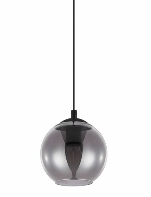 Ariscani Round Smoke Glass Pendant Light