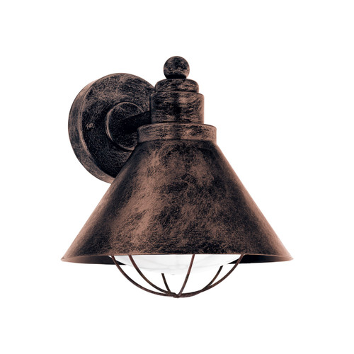 Barrosela Antique Copper Outdoor Wall Light