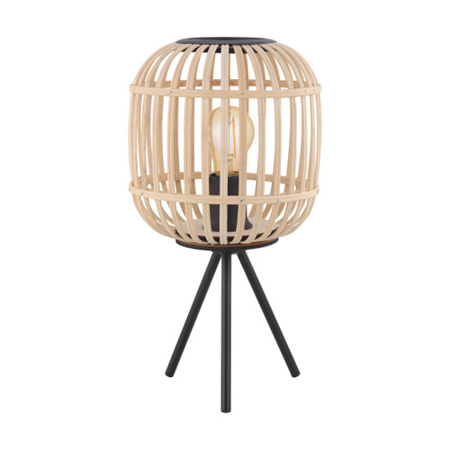 Bordesley Natural Wooden Table Lamp