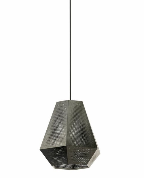 Chiavica Nickel Morrocan Pendant Light - Large