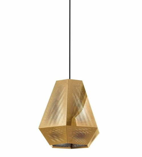 Chiavica Brass Morrocan Pendant Light - Medium