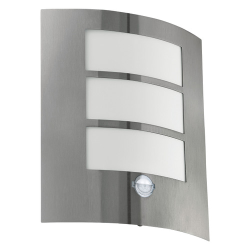 City Stainless Steel Wall Light with Sensor