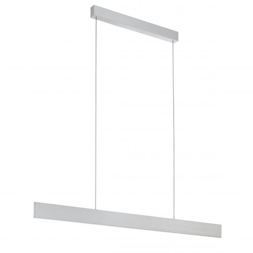 Climene Brushed Aluminium LED Linear Pendant Light