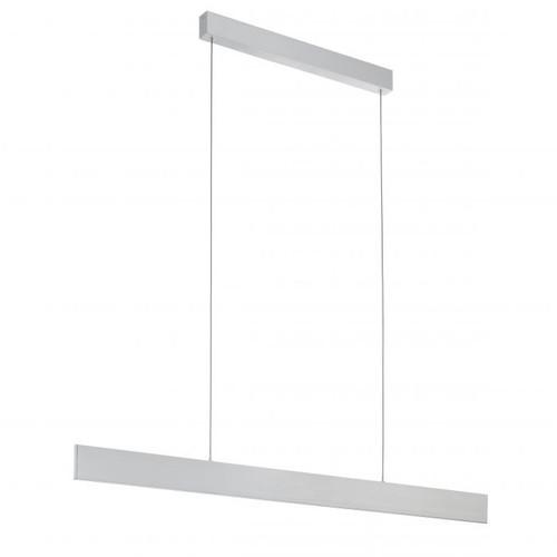 Climene Brushed Aluminium LED Linear Pendant Light