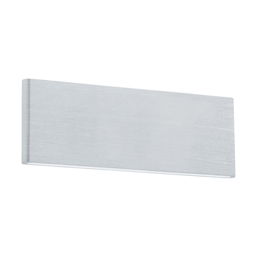 Climene Slim Linear Brushed Aluminium LED Wall Light