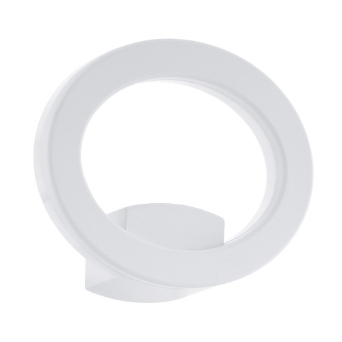 Emollio White Ring LED Wall Light