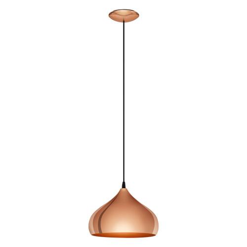 Hapton Modern Copper Dome Pendant Light