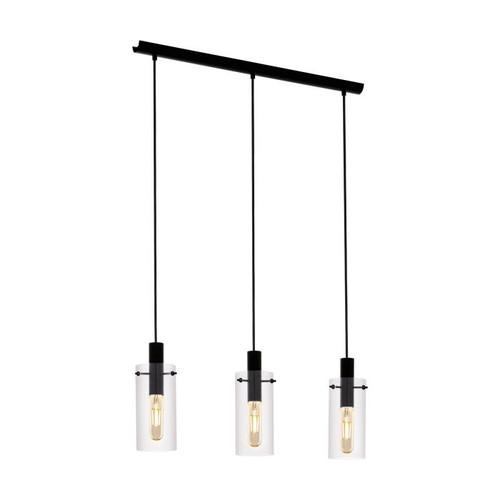 Montefino 3 Light Cylinder Linear Pendant Light