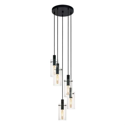 Montefino 5 Light Cylinder Cluster Pendant Light