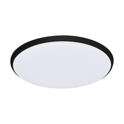 Ollie CCT LED Close to Ceiling Light - Black