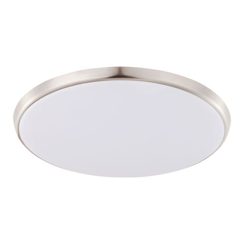 Ollie CCT LED Close to Ceiling Light - Chrome