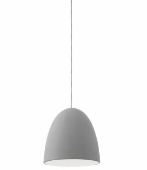 Pratella Simple Egg Dome Concrete Pendant Light