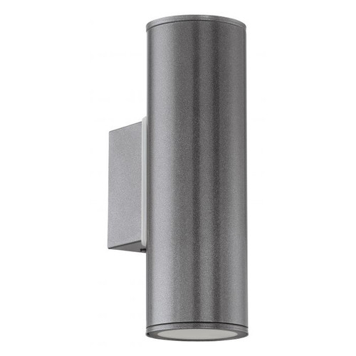 Riga Anthracite Up Down Outdoor Wall Light
