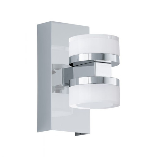 Romendo Chrome Up and Down Wall Light