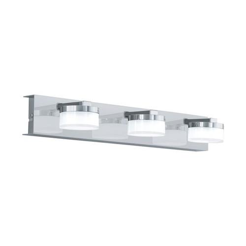 Romendo 3 Light Chrome Linear Wall Light