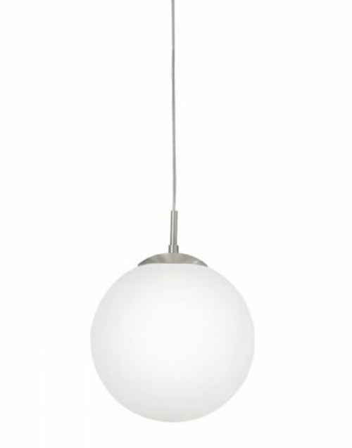 Rondo Round Opal Glass Pendant Light