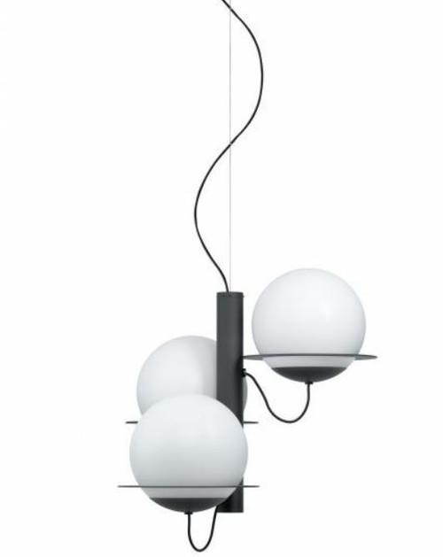 Sabalete 3 Light Opal Matt Glass Modern Pendant Light