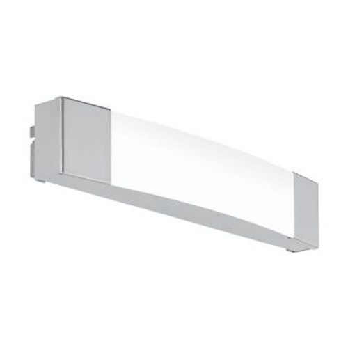 Siderno Chrome Opal LED Vanity Wall Light - Small