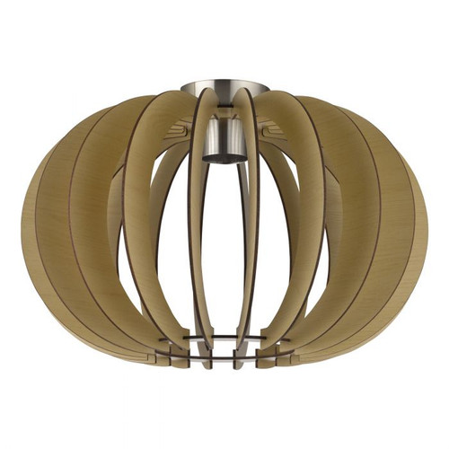 Stellato Maple Wood Natural Close To Ceiling Light