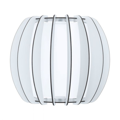 Stellato Maple Wood White Indoor Wall Light