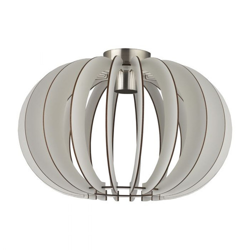 Stellato Maple Wood White Close To Ceiling Light