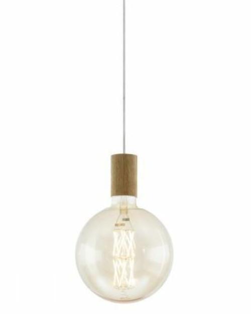 Tavistock Oak Wood Lamp Holder