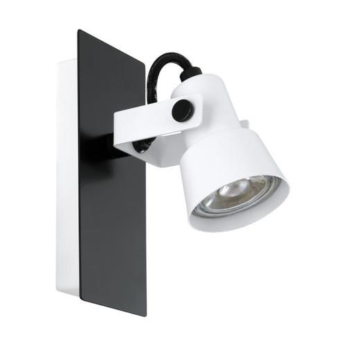 Trillo Black White LED Wall Light