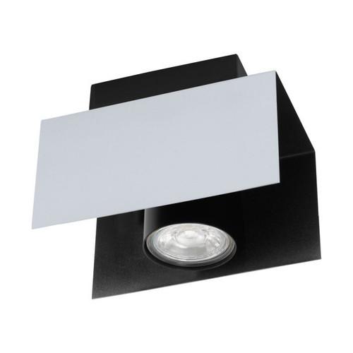 Viserba 1 Light Black Aluminum Close To Ceiling Light
