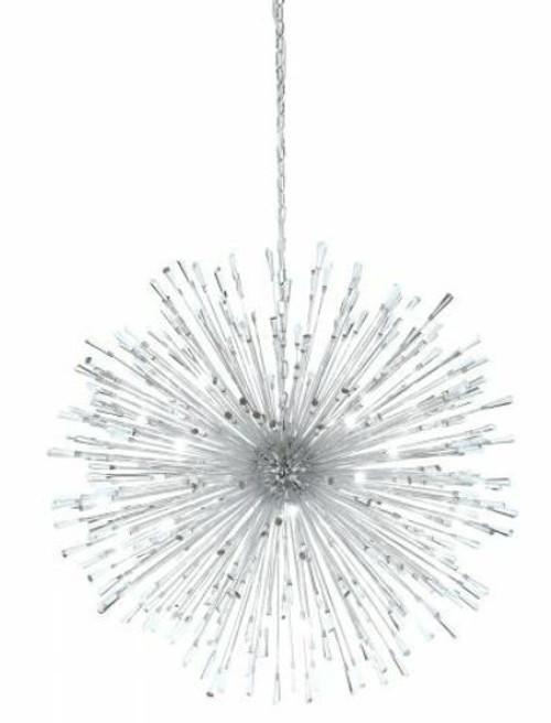 Vivaldo 32 Light Dandelion Chrome LED Pendant Light