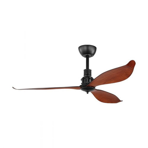 "Comporta 52"" DC ABS Ceiling Fan - Dark Wood"
