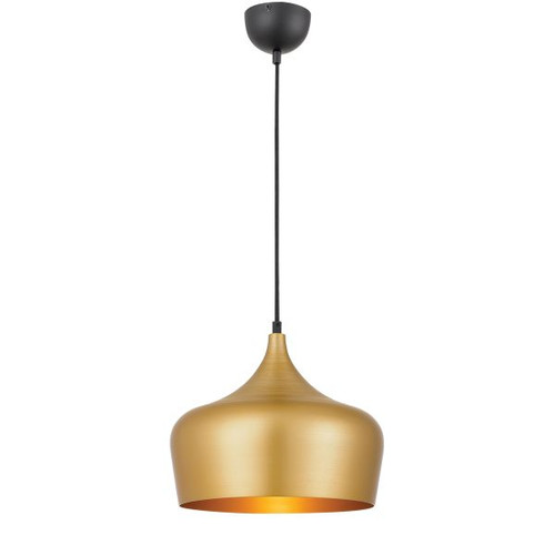 Piper Dome Gold Pendant Light