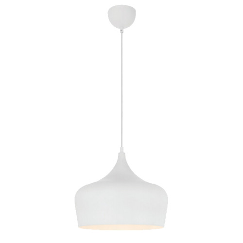 Piper Dome White Pendant Light