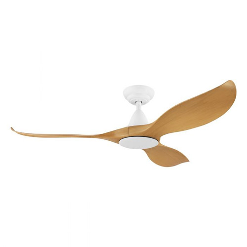"Noosa 52"" DC ABS Ceiling Fan - Bamboo and White"